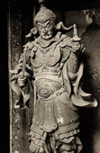 Japanese art - Wood Sculptures - Tennô Bichamon - Guard of the temple - Unkei - Kamakura Era - XIIIth Century