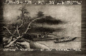 Japanese art - Painting - Landscape - Chinese ink -  Shugetsu - Sessh� School - XVIth Century