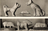 Chinese Art - Terra cotta - Animals - Funerary Monument - Han Dynasty