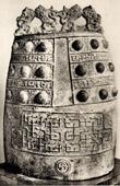 Chinesisch Kunst - Bronze - Glocke - Tchong - Tsindynastie - III. Jahrhundert v. Chr.