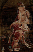 Chinese Art - Painting - Portrait of Kouan Yin (Tsang-Sse Kung) - Song or Yuen Dynasty