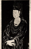 Chinese Art - Painting - Portrait of Kouan Yin (Wou Ta�-Tseu - Tang Dynasty)