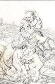 Holy Family - Sacra Famiglia - Canigiani Holy Family (Raffaello Sanzio called Raphael)