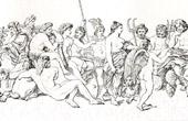 The Council of The Gods - Loggia di Psiche (Raffaello Sanzio called Raphael)