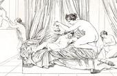 Story of Psyche - Curiosity and Punishment (Raffaello Sanzio called Raphael)