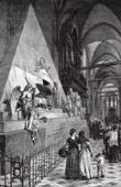 View of Venice - Veneto - Basilica di Santa Maria Gloriosa dei Frari - Tomb of Casanova (Italy)