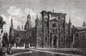 View of Pavia - Certosa di Pavia - Lombardy (Italy)