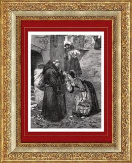 Moine Mendiant de la Brianza - Lombardie (Italie)