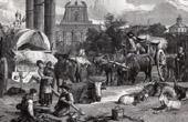 View of Rome - Campo Vaccino - Roman Forum - Forum Romanum (Italy)