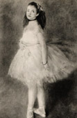 Antique print - Dancer - Ballet (Auguste Renoir)