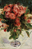 Roses in a Glass (Auguste Renoir)