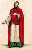 Portrait of Chilperic I