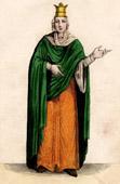 Portrait of Fredegund