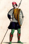 Costume - IXth Century - Soldier