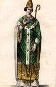 Portrait of Prudentius - Bishop of Troyes - Died in 861