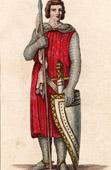 Portrait of Renaud, Count of Tonnerre