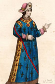 Portrait of Robert Count of Clermont (1256-1317)