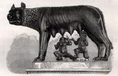 Ancient Rome - Capitoline Wolf - Romulus - Remus (Italy)