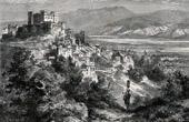 View of Celano - Aquila - Abruzzo (Italy)