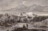 View of Calabria - Reggio Calabro (Italy)
