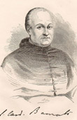 Portrait of Cardinal Alexandre Barnabo - Prefect of the Sacred  Congregation for Propagation of the Faith