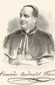 Portrait of Cardinal Alessandro Franchi - Prefect of the Sacred  Congregation for Propagation of the Faith