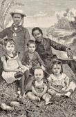 Nya Hebriderna - Vanuatu - Oceanien - Ursprungsbefolkning - Kolonialism