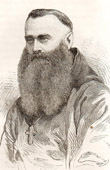 Portrait of Mgr Ludovic Taurin Cahagne (1826-1899) - Bishop - Eastern Africa  - Ethiopia