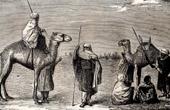 Vista da Saara - Deserto - �frica - Tuaregues - Pastores n�mades - Cammelos
