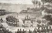 V�stafrika - Porto Novo (Benin) - C�te des Esclaves - Livegenskap - Slaveri - Tr�ldom - Begravning