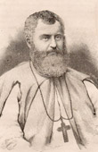 Portrait of Mgr François Xavier Riehl - Bishop - Catholic Missionaries - Senegal  (Africa)