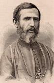 Portrait of Mgr Jean Baptiste Cazet (1827-1918) - Jesuit - Bishop - Madagascar - Catholic Missionaries