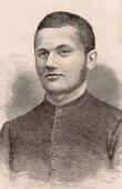 Portrait of Dominique Iribarne  - Missionary - Massacred in Cochinchina