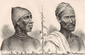 Cimbebasia - Ancient part of Southern Africa - Catholic Missionaries - Amboellas chiefs
