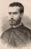Portrait of Benoit Satre (1855-1885) - Missionary in Laos