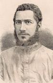Portrait of J.M. Chausse - Catholic Missionary - Dahomey - Benin (West Africa)