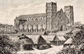 Westliche Tonkin - Kathedrale von Paul François Puginier (1835-1892) - Bischof - Missionare - Vietnam (Asien)