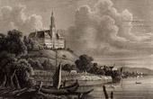 View of Neu Birnau - Church of Birnau - Castle of Maurach (Germany)