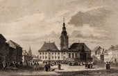 View of Mannheim (Germany) - Baden Württemberg - Market Place