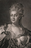 Portrait of Catherine II of Russia (1729-1796)