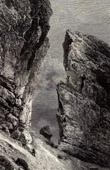 View of Breche de Roland - Cirque de Gavarnie - Pyrenees - Pyr�n�es (France)