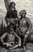 Georgisch Soldaten (Georgien) - Kaukasien