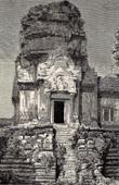 Ansicht von Ruine in Angkor - Kambodscha - Alte Khmer Empire