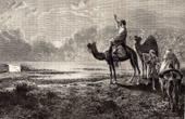 View of Desert (Africa) - Mirage - Optical phenomenon - Refraction