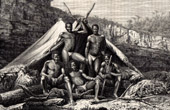 Basotho people - Basuto - Cafres (South Africa)