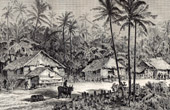 Malaysia (Asia) - Dwellings of Negritos - Indigenous people - Nomads - Hunters