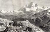 Ansicht von Gauri Sankar - Rolwaling Himal - Himalaya (Asien)