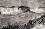 The Niagara Falls - Whirlpool near Niagara