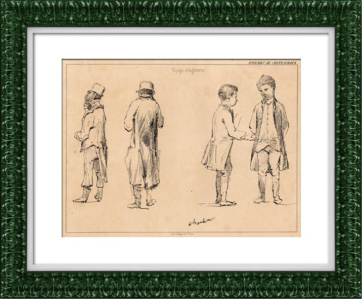 grabados antiguos viaje de inglaterra affiches de chateauroux grabado en talla dulce 1840. Black Bedroom Furniture Sets. Home Design Ideas