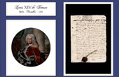 Historical Document - Reign of Louis XIV of France - 1699 - Louis XIV, King of France and of Navarre